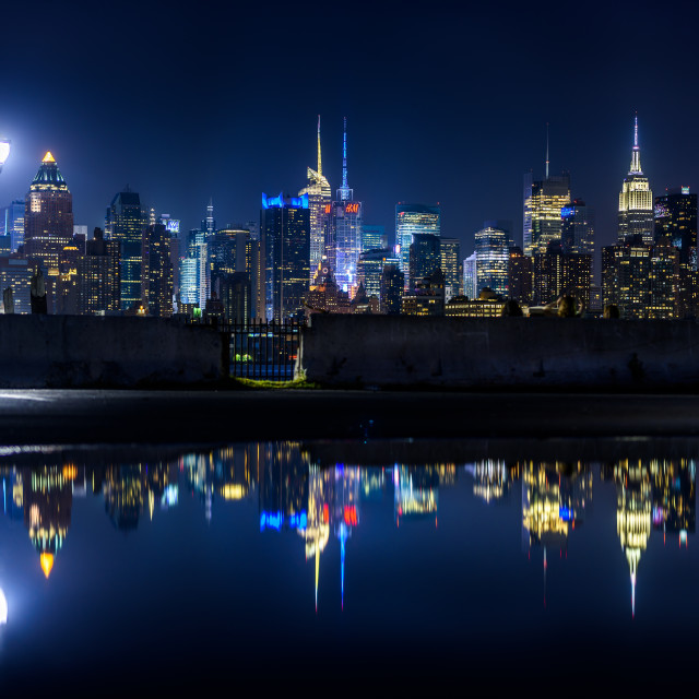 """Reflecting City"" stock image"
