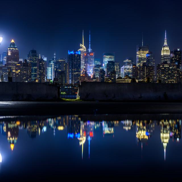 """""""Reflecting City"""" stock image"""