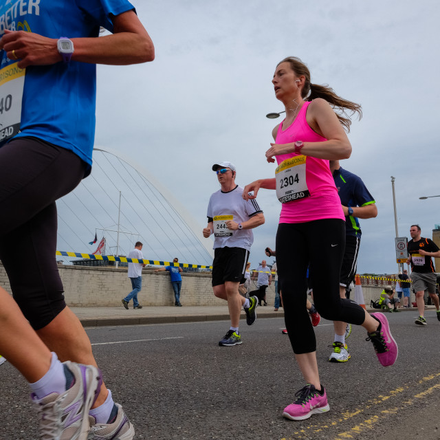 """Great North 10k 2015 j"" stock image"