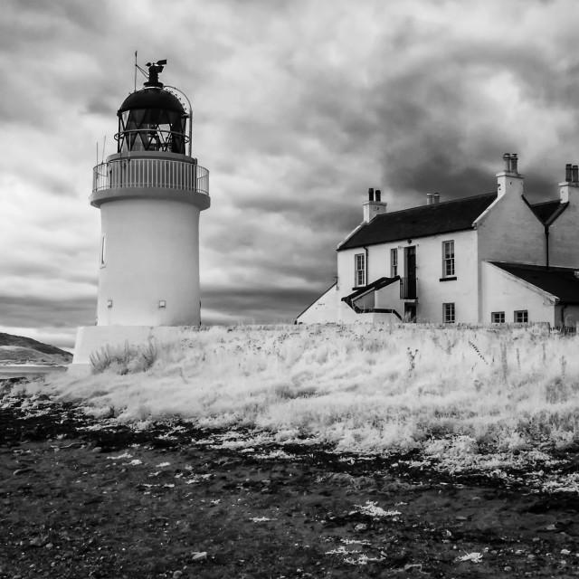 """Lighthouse at Ardgour"" stock image"