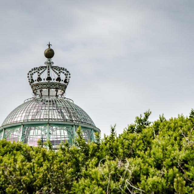 """""""Royal Greenhouses of Laeken 1"""" stock image"""