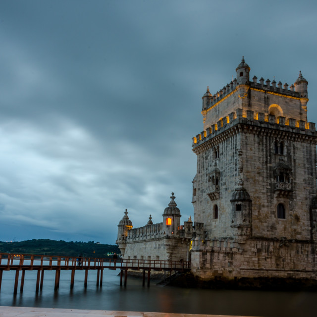 """Belém Tower"" stock image"