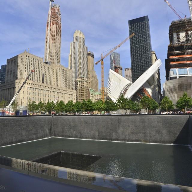 """""""9/11 memorial 2"""" stock image"""