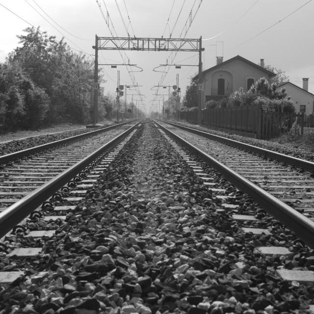 """Railroad"" stock image"