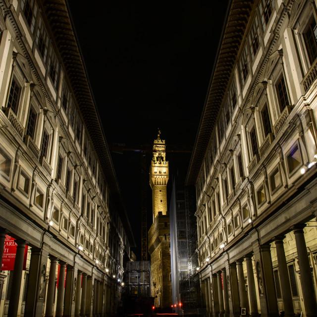 """""""Uffizi Gallery"""" stock image"""