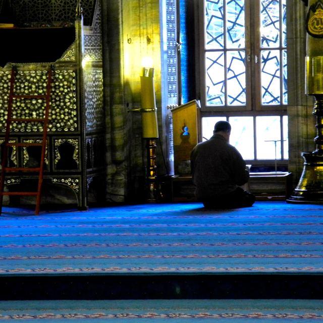 """Atmosphere of prayer"" stock image"