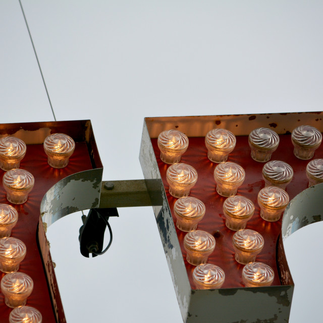 """Light bulbs"" stock image"