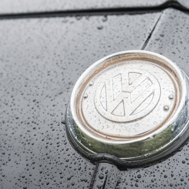 """VW vehicle badge"" stock image"