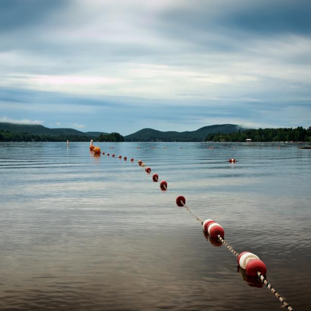 """""""Lake Pleasant"""" stock image"""