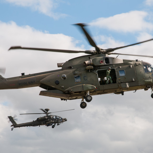 """Agusta Westland Merlin HC3"" stock image"