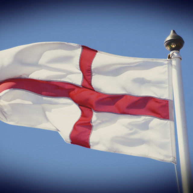 """St George Flag"" stock image"