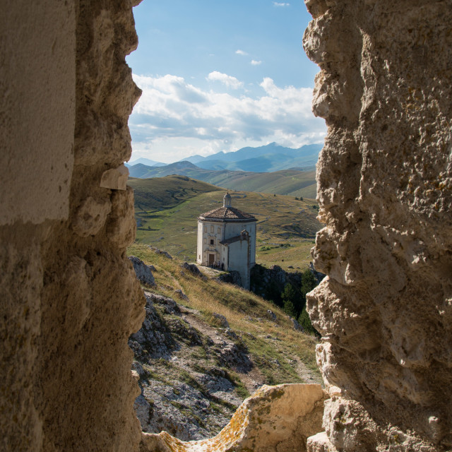 """""""Chiesa Santa Maria della Pietà"""" stock image"""