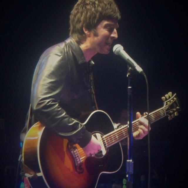 """Noel Gallagher (Oasis 2009)"" stock image"