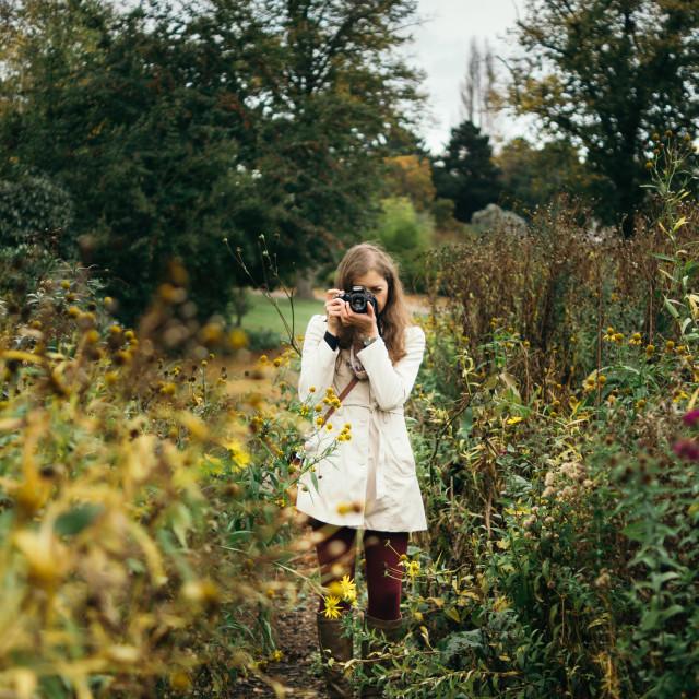 """Nature Photographer"" stock image"