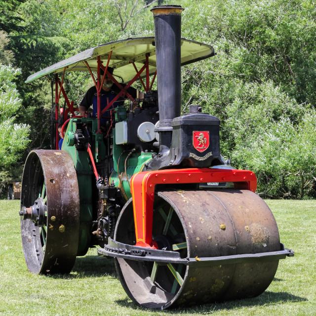 """steam roller"" stock image"