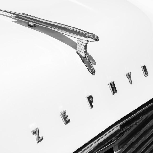 """Zephyr detail"" stock image"