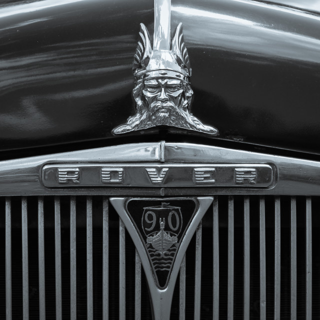 """""""1958 Rover 90"""" stock image"""