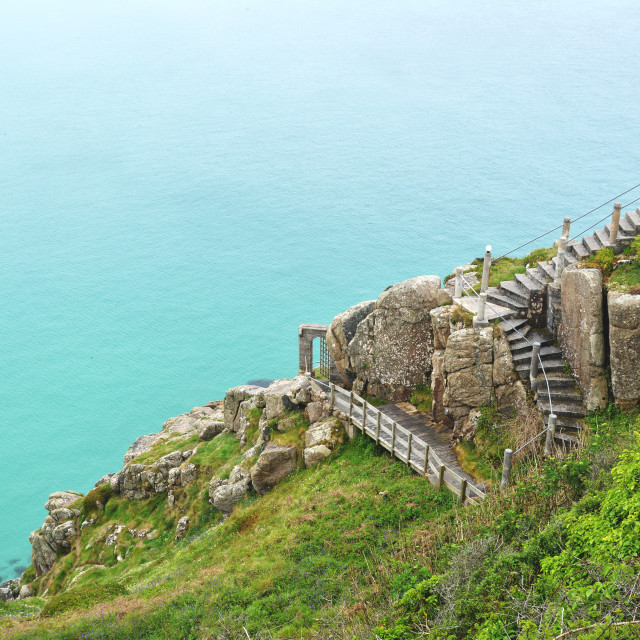 """Cornwall sea"" stock image"