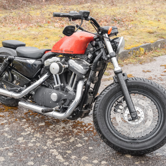 """Harley Davidson"" stock image"
