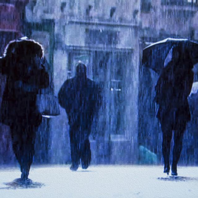 """""""A Rainy Day"""" stock image"""
