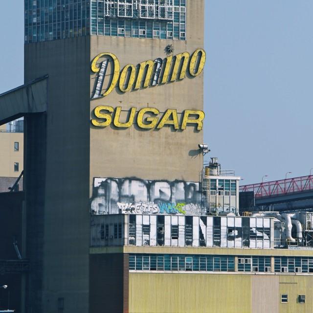"""Domino Sugar Factory, New York"" stock image"