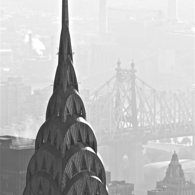 """Art Deco Chrysler Building"" stock image"