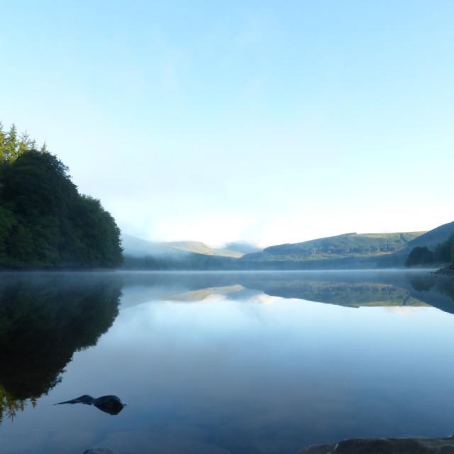 """Ponsticill Reservoir"" stock image"