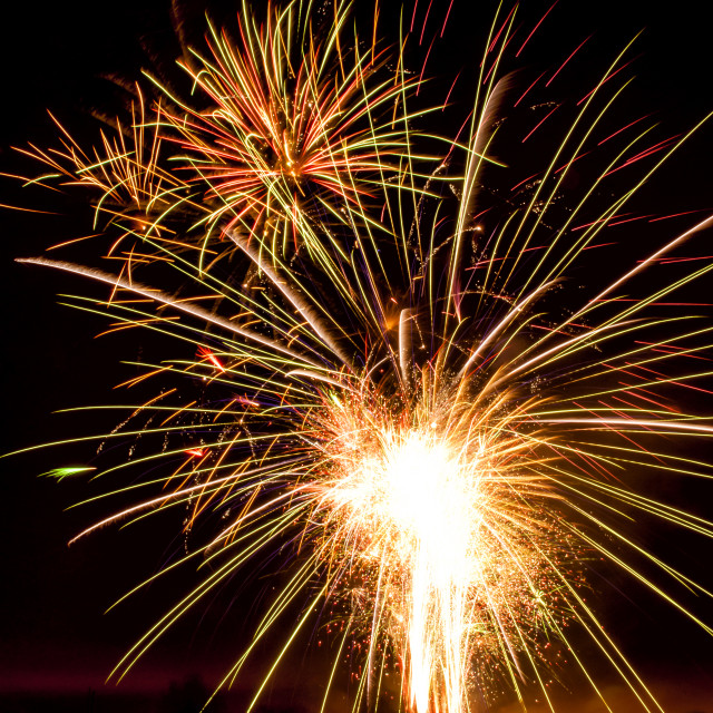 """Fireworks."" stock image"
