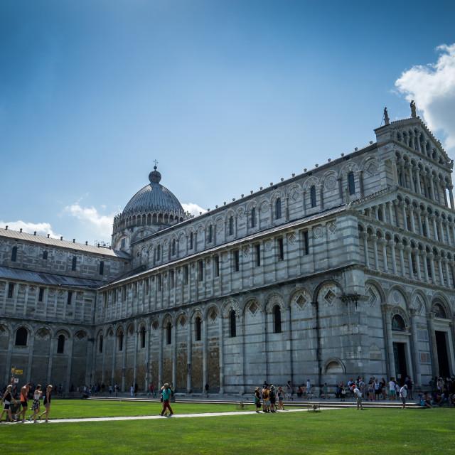 """The Duomo,Pisa"" stock image"