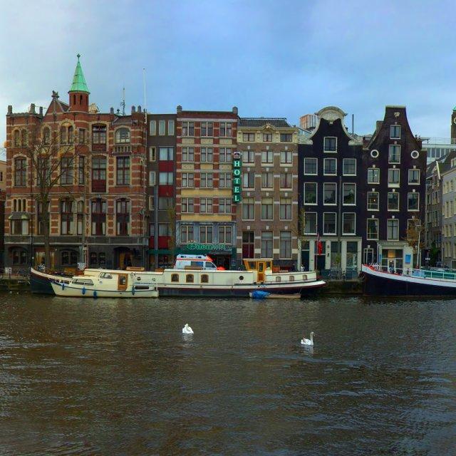 """Amsterdam panorama"" stock image"