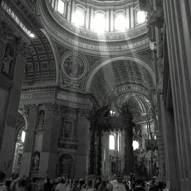 """st peters basilica"" stock image"