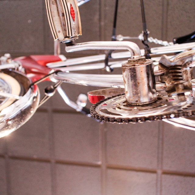 """bicycle underside"" stock image"