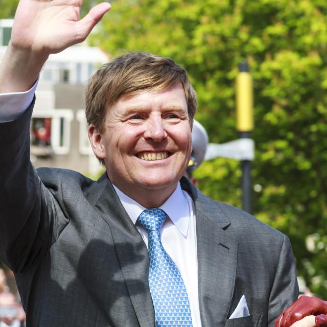 """King Willem-Alexander"" stock image"