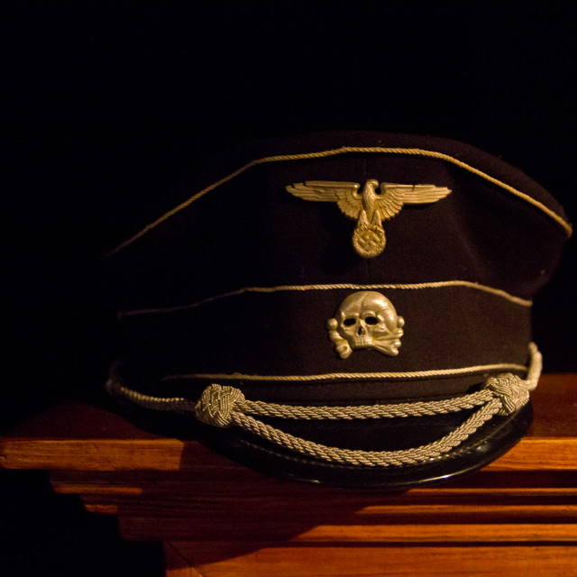 """""""SS Officer's Cap"""" stock image"""