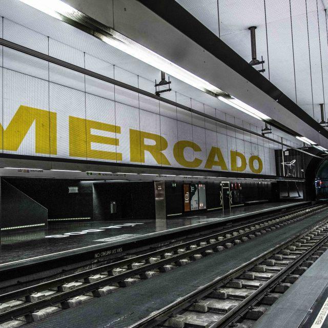 """""""Mercado Connection"""" stock image"""