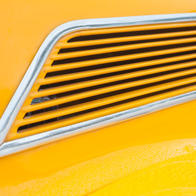 """yellow vehicle panel"" stock image"