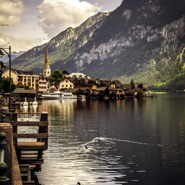 """Fabulous town"" stock image"