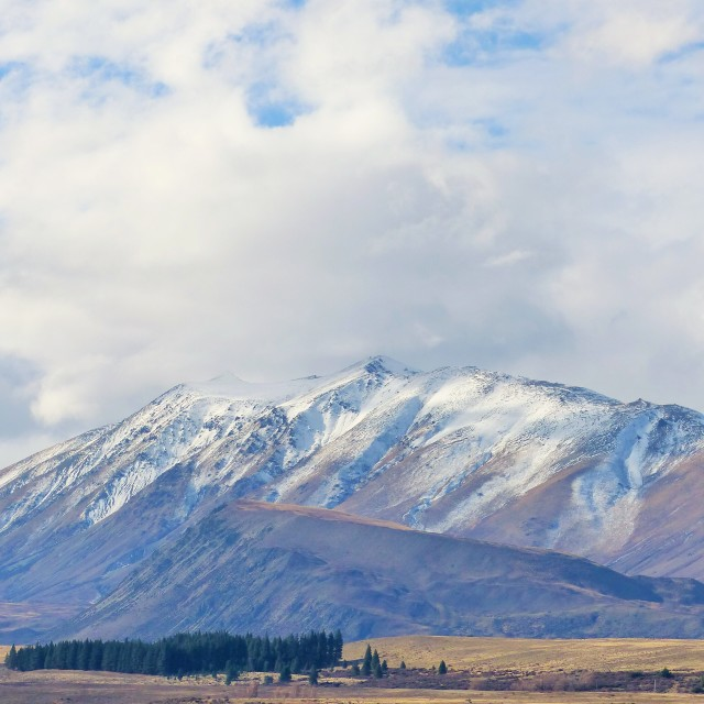 """Lake Tekapo"" stock image"