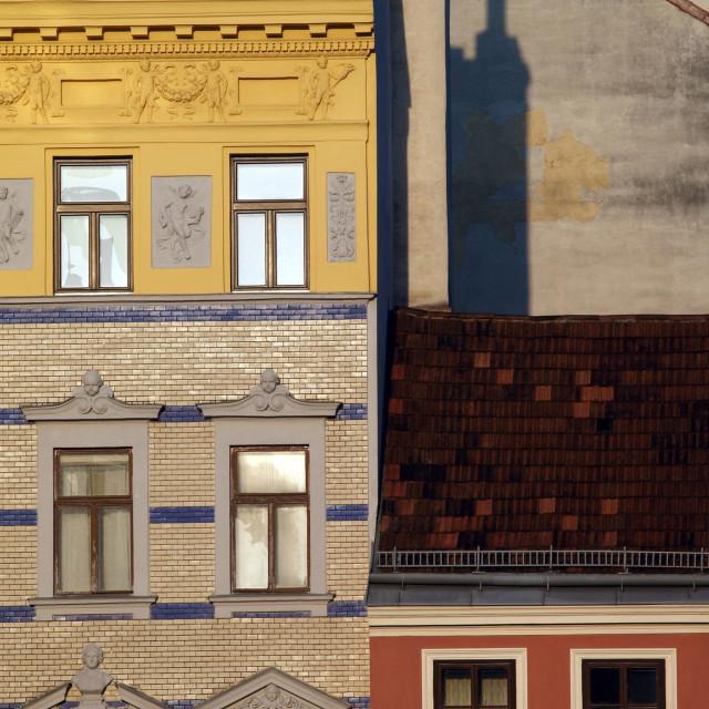 """Houses In Wien"" stock image"
