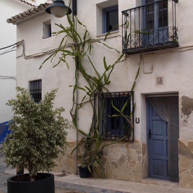 """Old Spanish Village"" stock image"