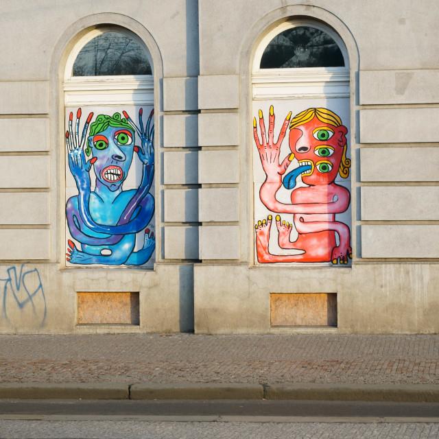 """Prague Graffiti"" stock image"