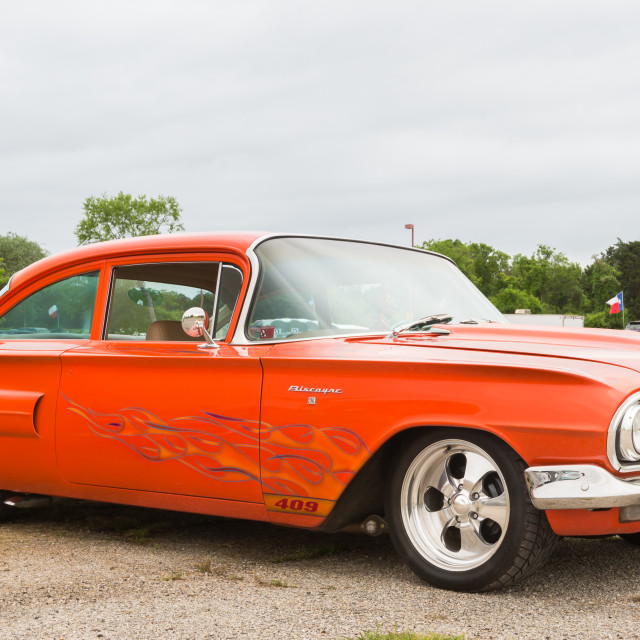 """1960 Chevrolet Biscayne"" stock image"