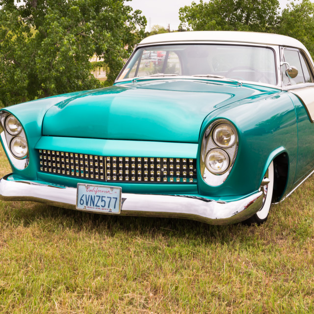 """1952 Ford Victoria"" stock image"
