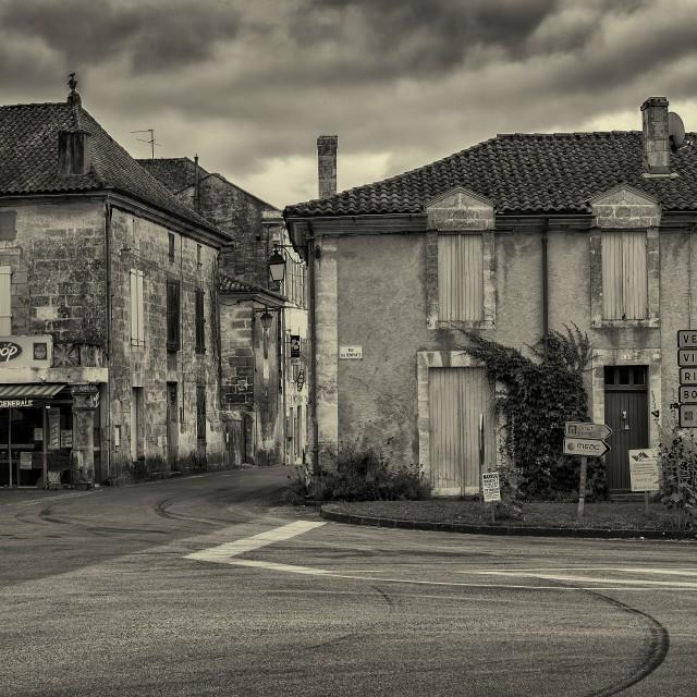 """""""La tour blanche"""" stock image"""