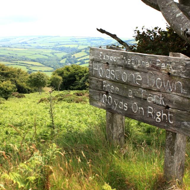 """North Devon Walks"" stock image"