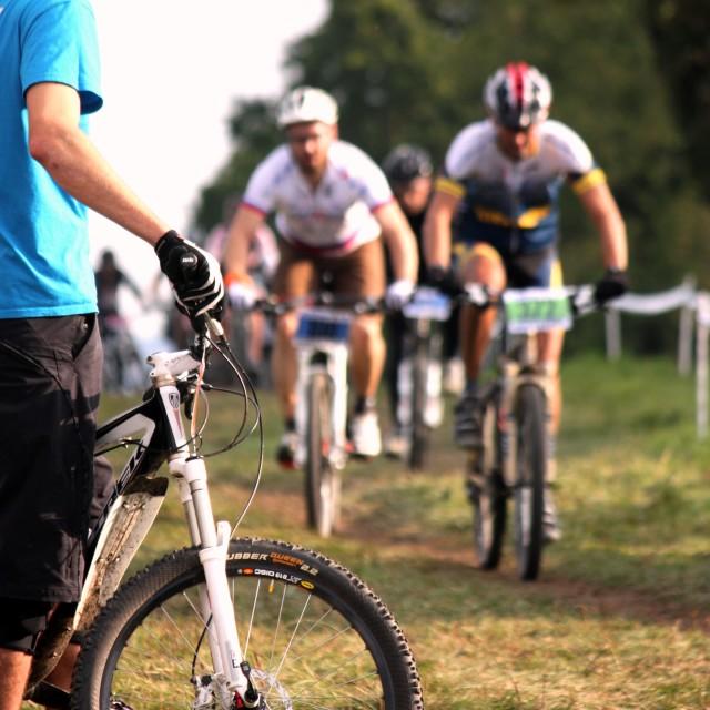 """""""Bike Race"""" stock image"""