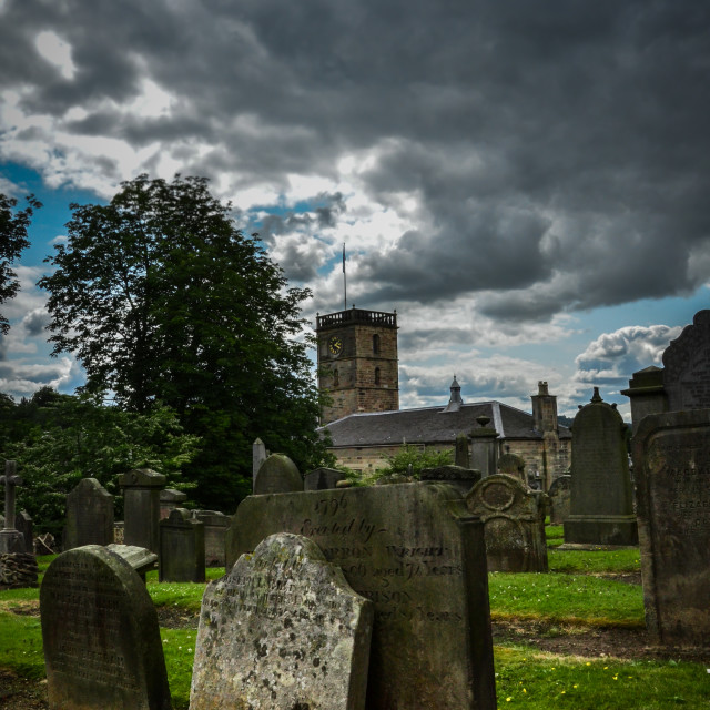"""St Michaels Cemetary"" stock image"
