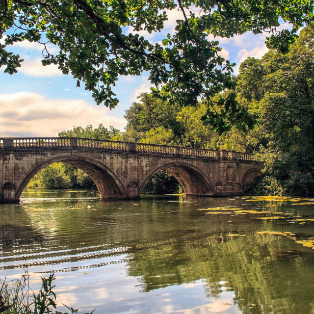 """THE OLDE BRIDGE"" stock image"