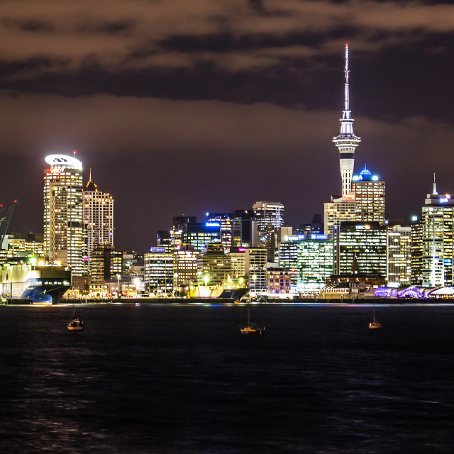 """Auckland"" stock image"