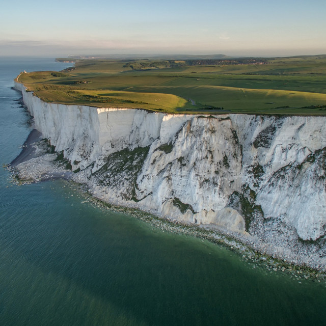 """""""Beachy Head in Sussex"""" stock image"""